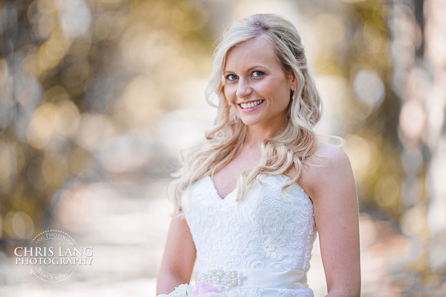 Wilmington NC Bridal Photography by Chris Lang Photography