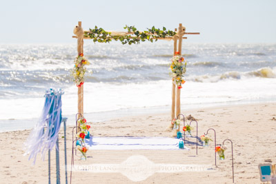 topsail island wedding photographers - topsail island weddings - wedding photography - chris lang weddings