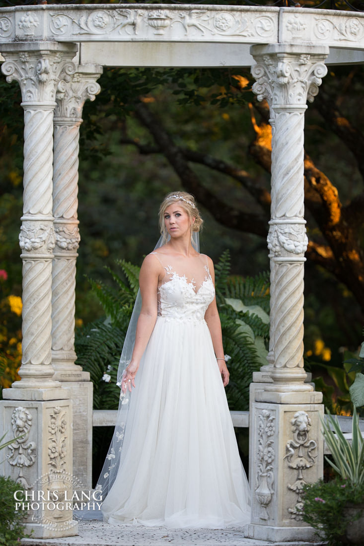 places totake bridal portraits wilmington nc -