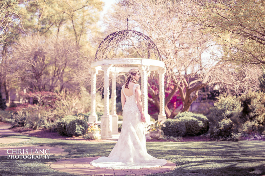 garden bridals - airlie gardens - bridal portrait photography - photographers - bridal portraits - bride - wedding dress - ideas - wilmington nc