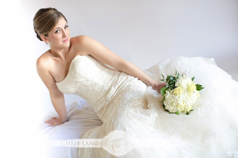 Image of Bride in her weddig dress - Bridal Ideas- Bridal Inspiration - Wilmington Weddings