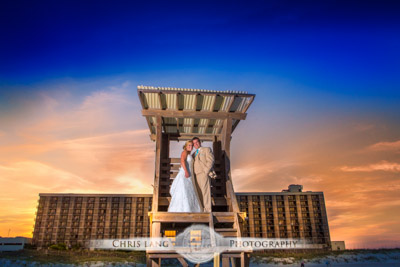 shell island resort weddings - wrightsville beach - wedding photographers - wedding photography - chris lang weddings